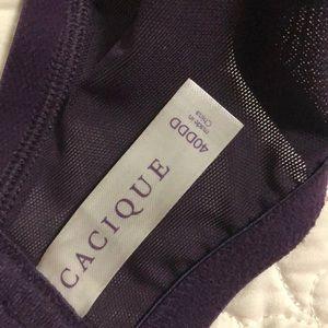 Cacique Intimates & Sleepwear - Cacique lace bra 40DDD